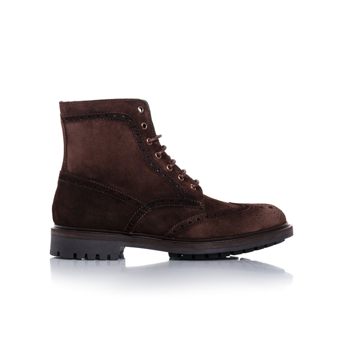 Alec Moss Suede Boots