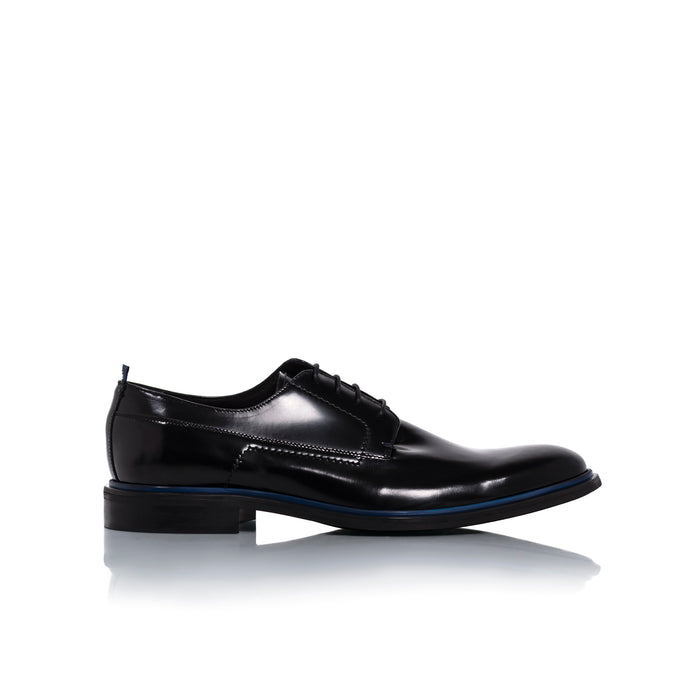 Alexander Black Leather Shoes