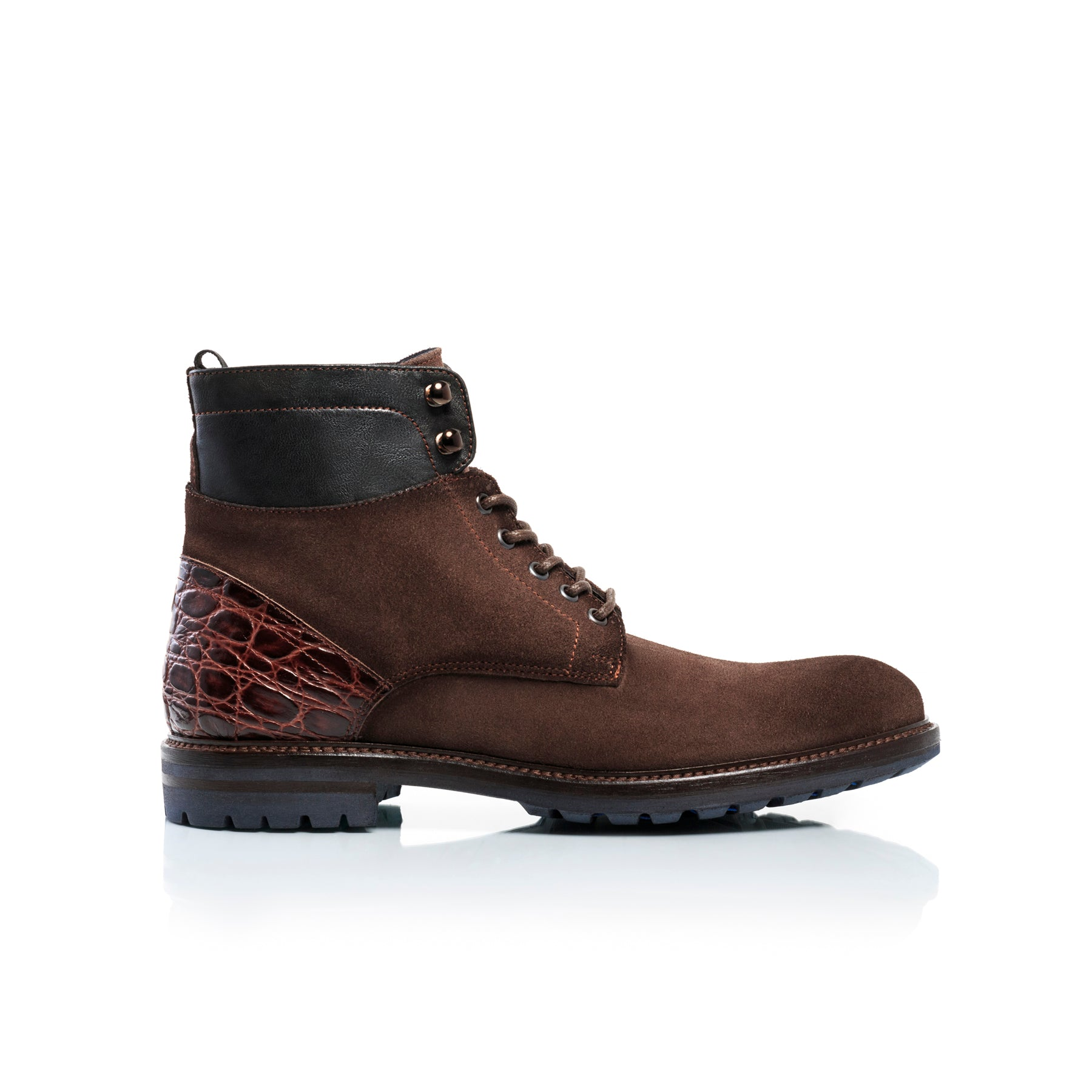 Antoine Brown Suede Boots