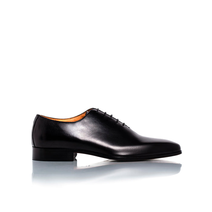 Antonio Black Leather Shoes