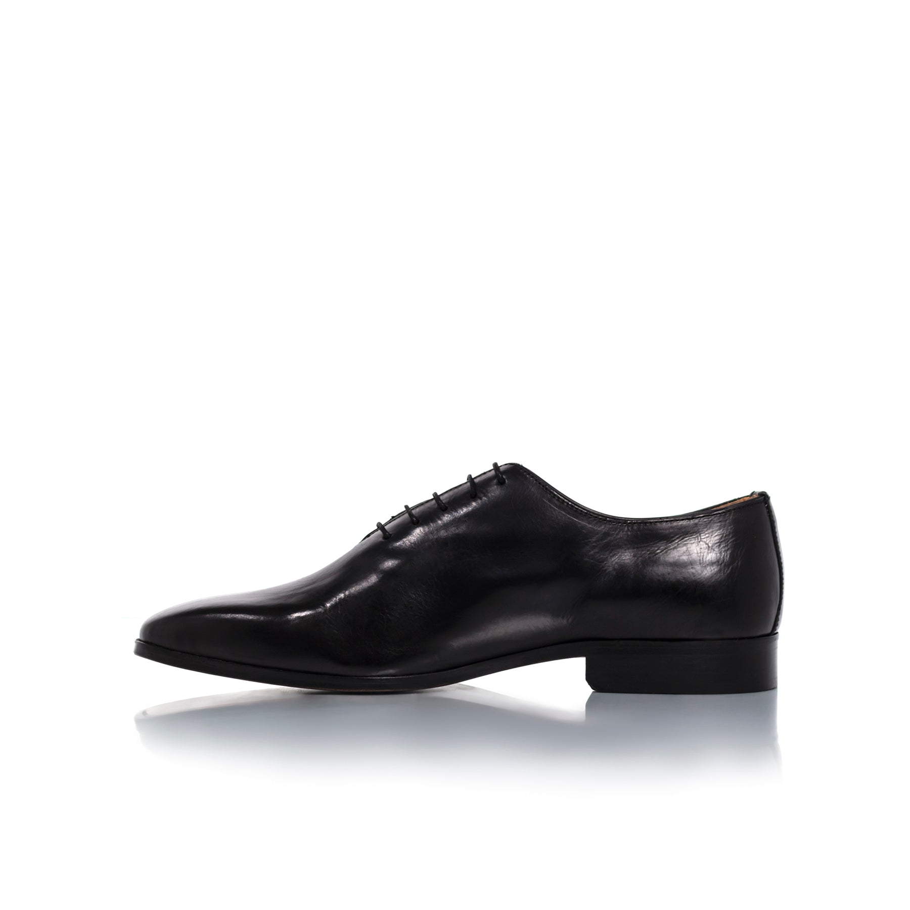 Antonio Navy Leather Shoes