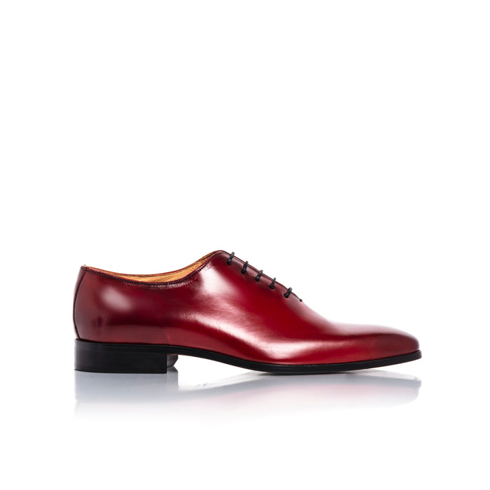 Antonio Red Leather Shoes
