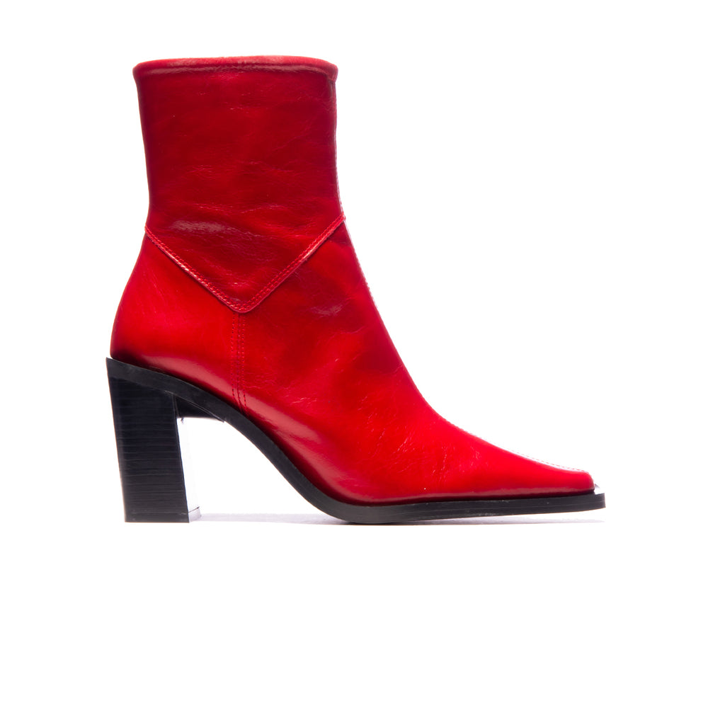 Grant Red Leather