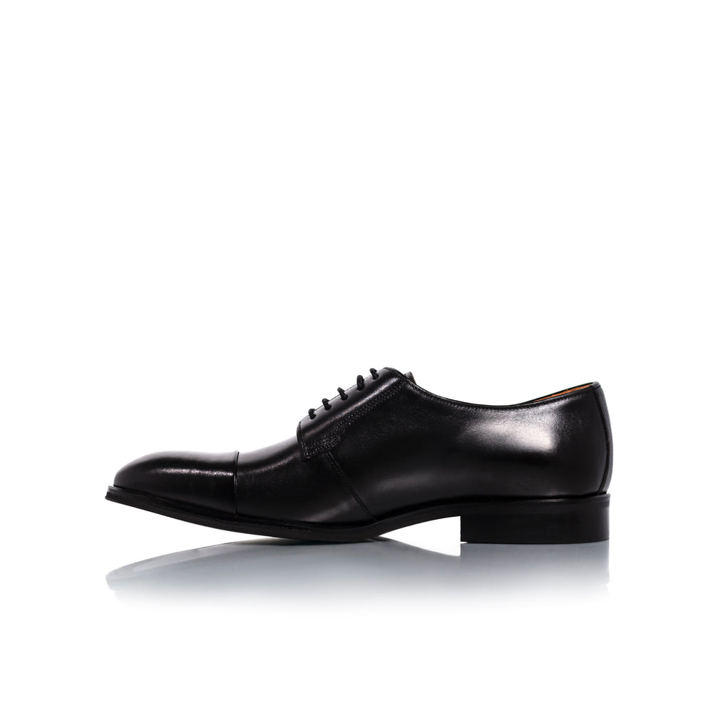 Load image into Gallery viewer, Barack Black Leather Shoes
