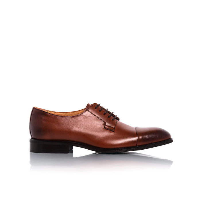 Barack Brown Leather Shoes