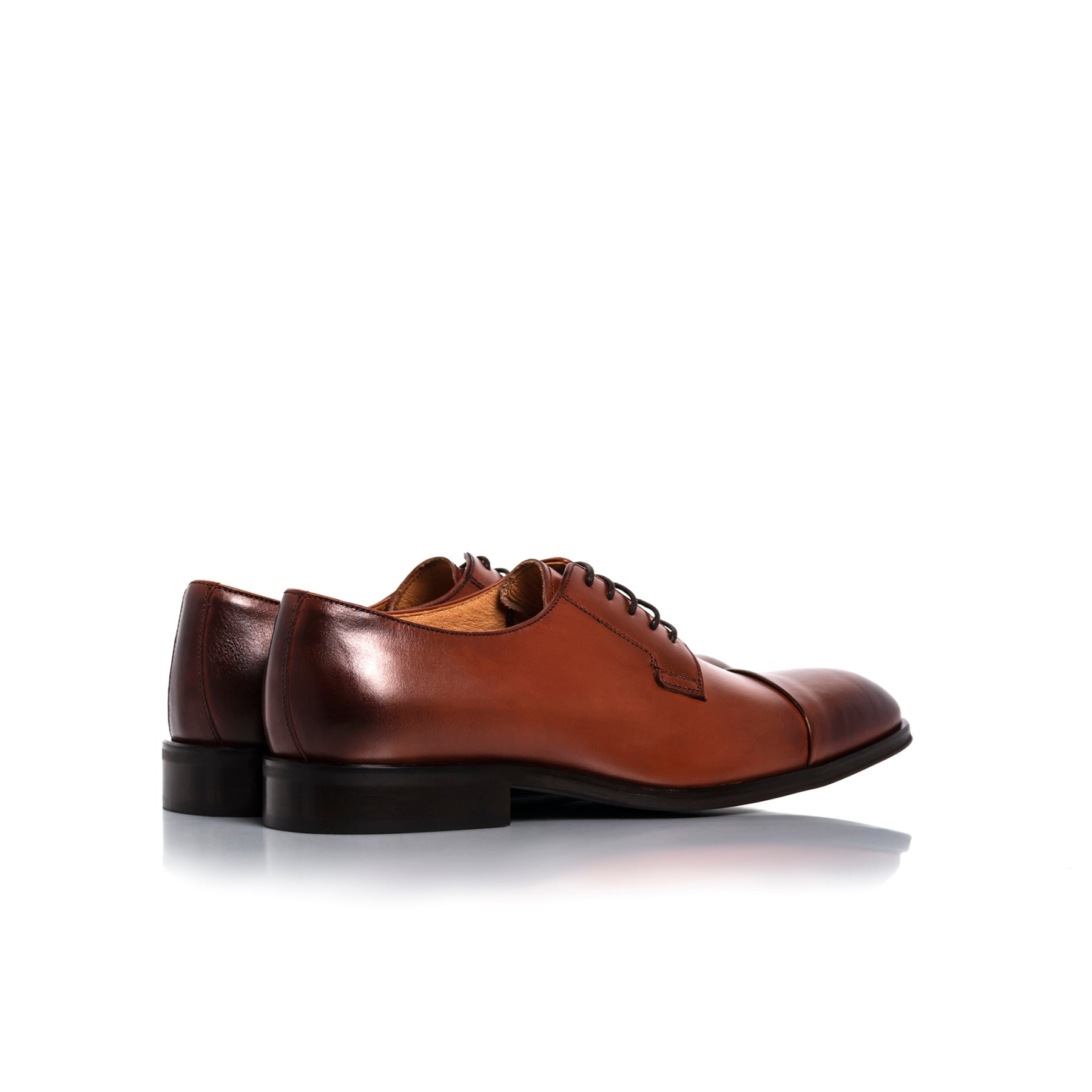 Barack Tan Leather Shoes