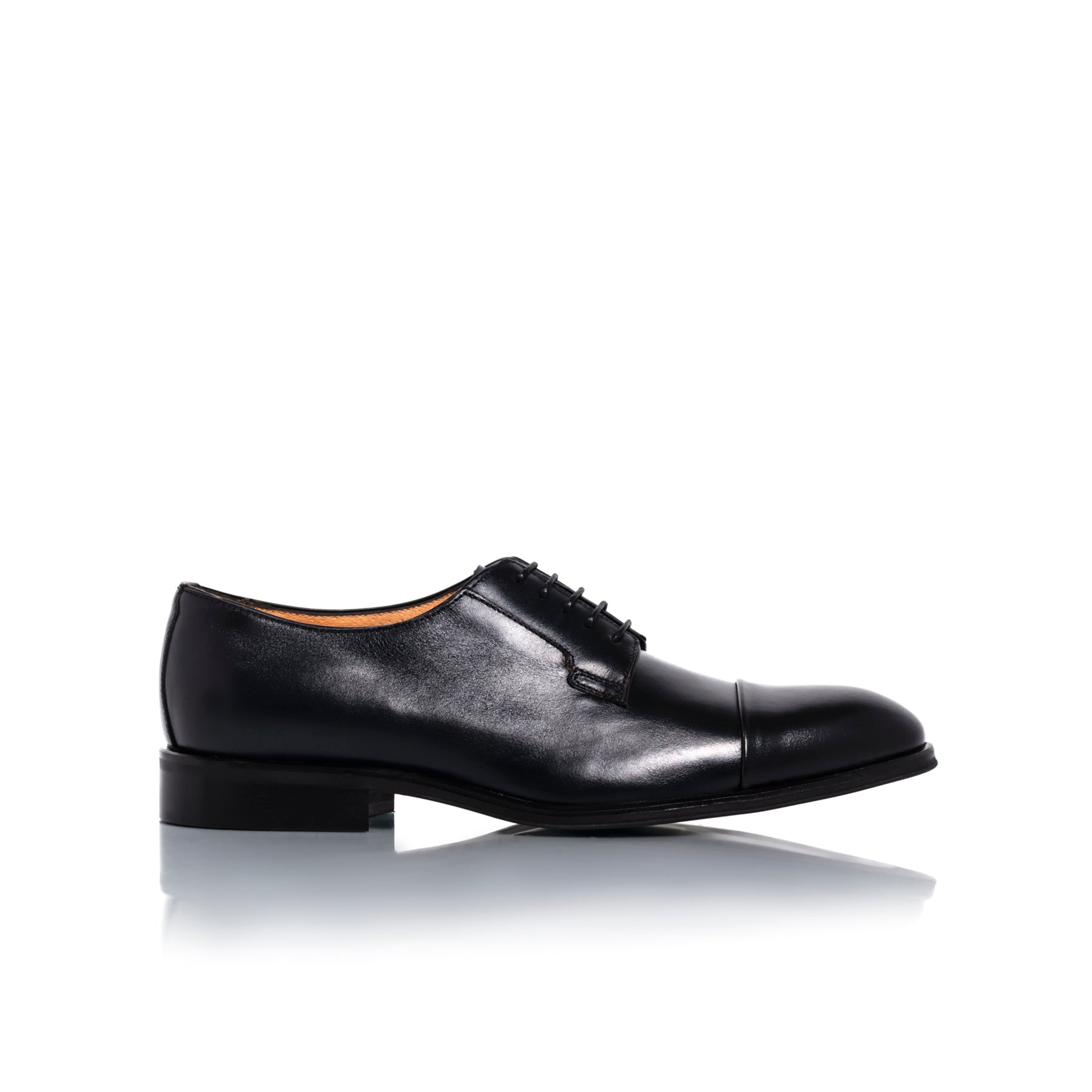 Barack Navy Leather Shoes