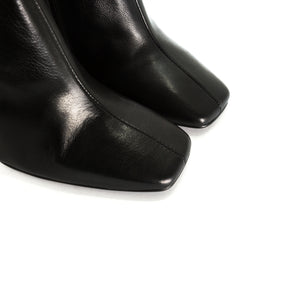 Beaufort Black Leather