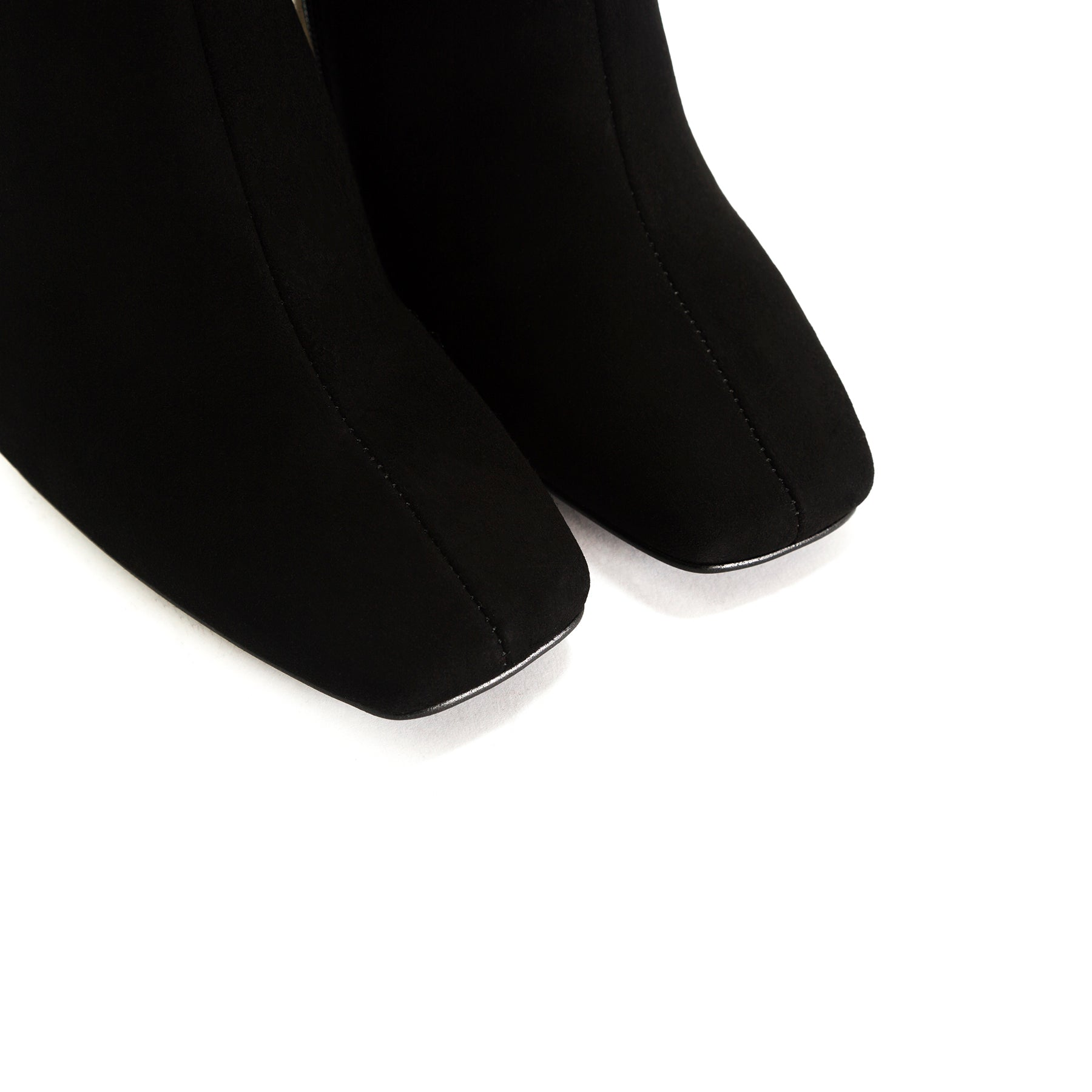 Beaufort Black Suede Ankle Boots