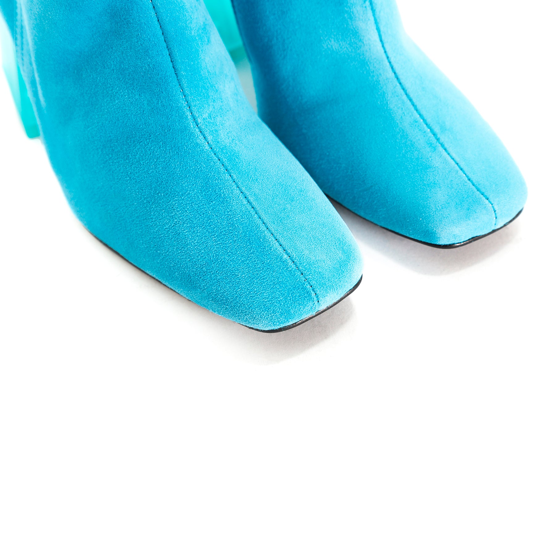 Beaufort Turquoise Suede Ankle Boots