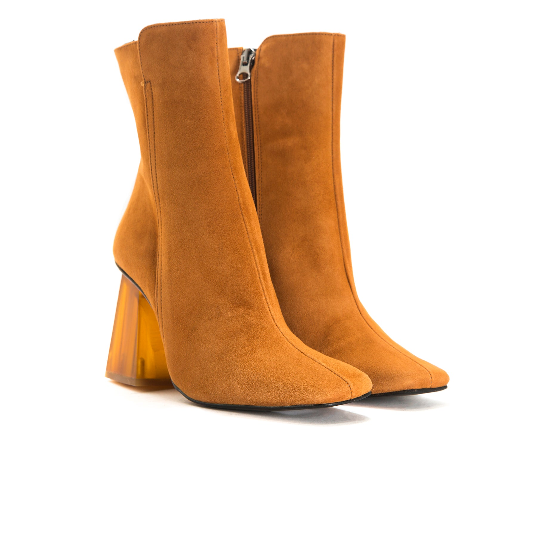 Beaufort Tan Suede Ankle Boots