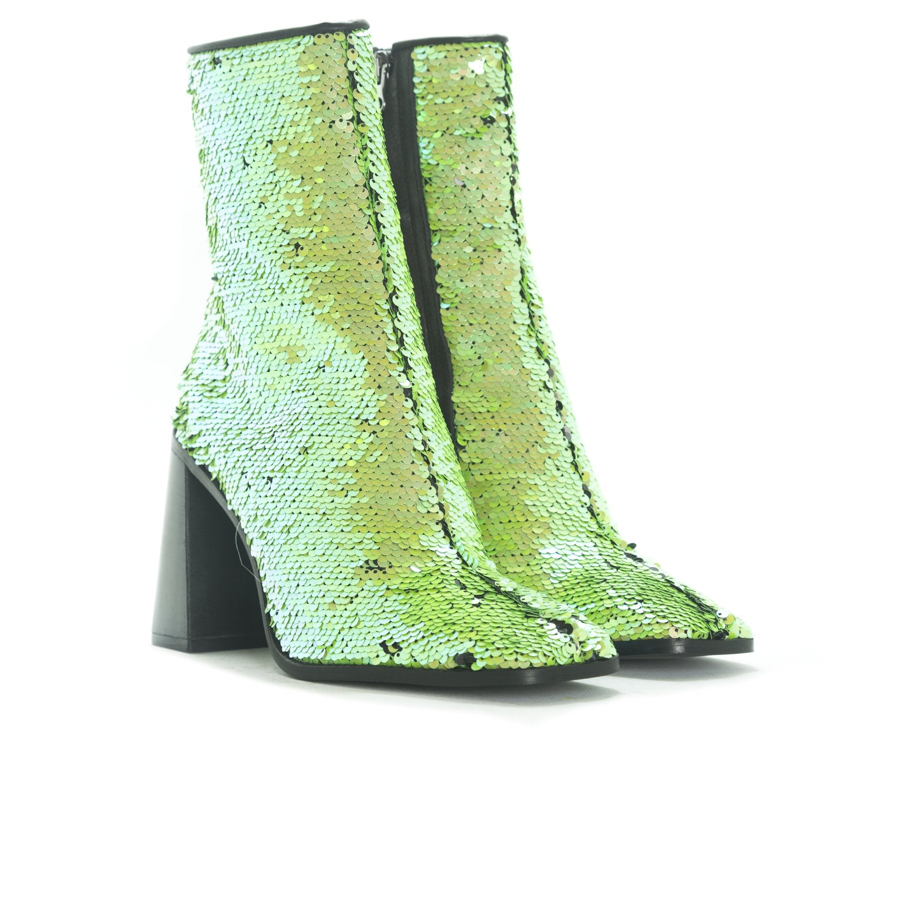 Belmar Green Sequins