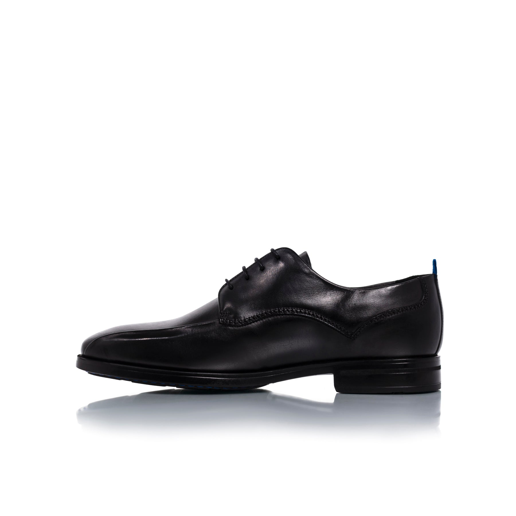 Ben Black Leather Shoes