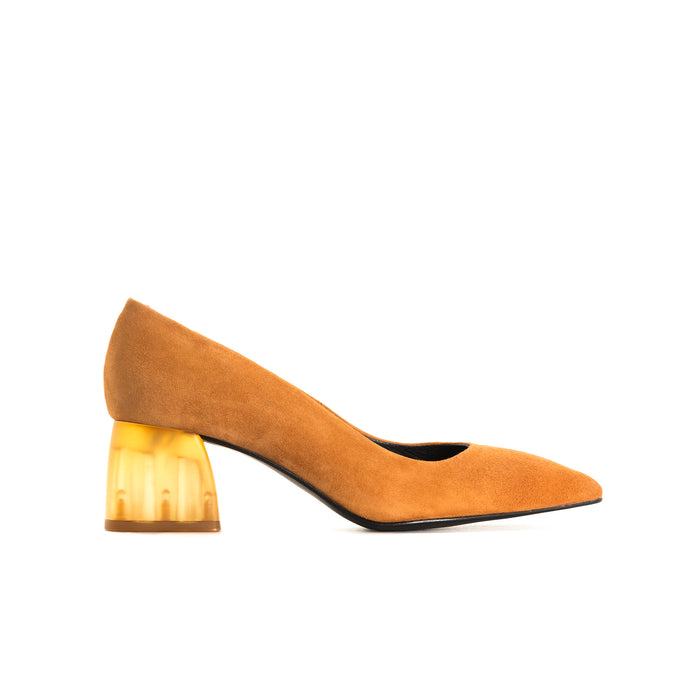 Betheny Tan Suede Pumps
