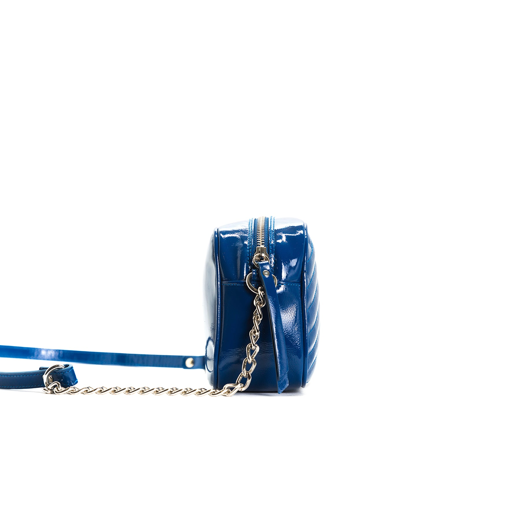 Bijoux Navy Naplack Shoulder Bags