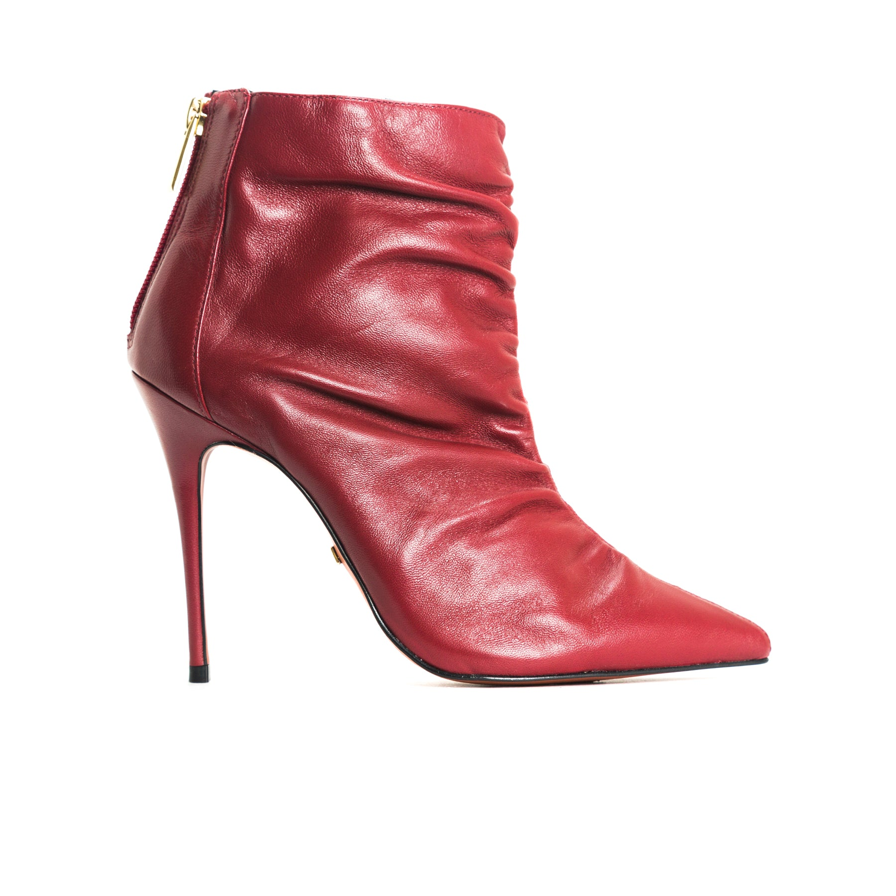 Kate Bordeau Leather Ankle Boots