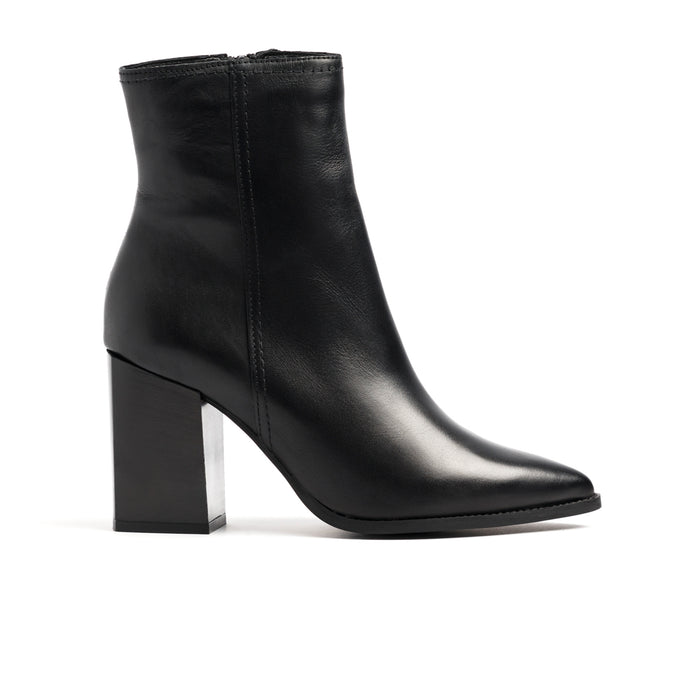 Cairo Black Leather Boots - SOLD OUT