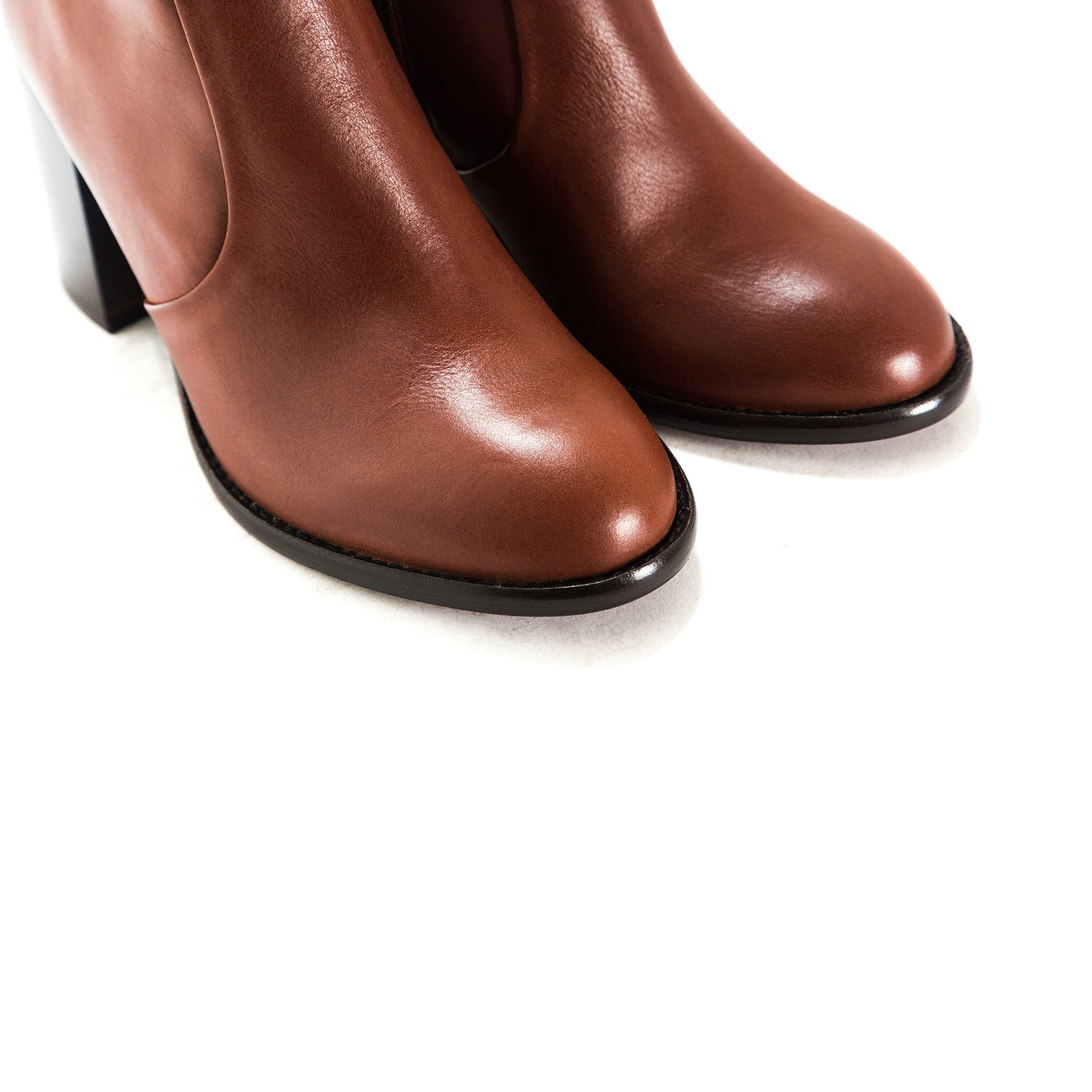Charlston Tan Leather Boots