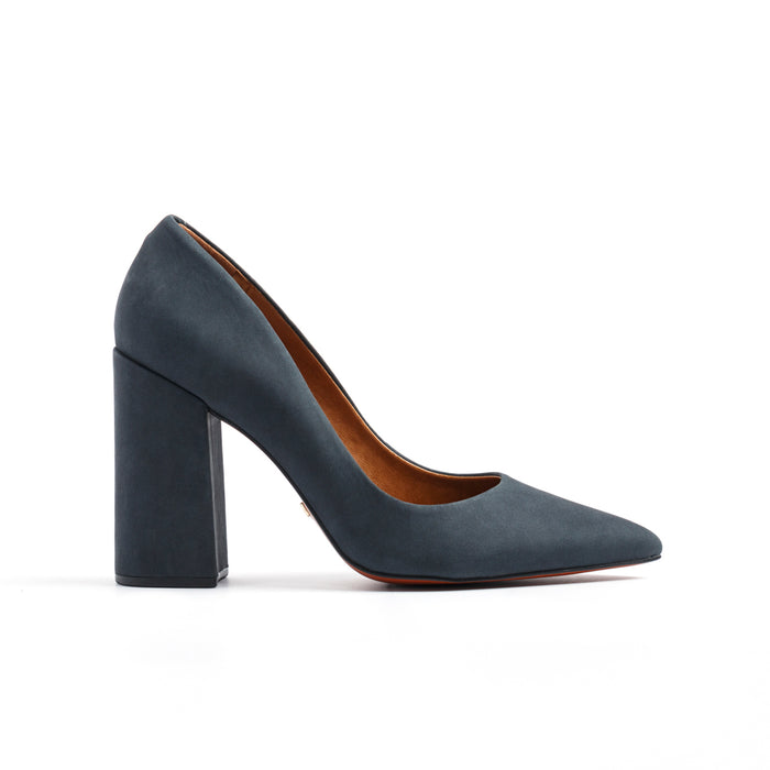 Ciana Grey Nubuck Pumps