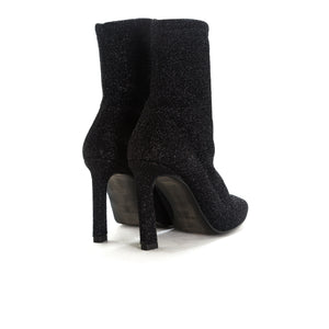 Dafni Black Stretch Ankle Boots