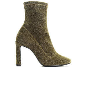 Dafni Gold Stretch Ankle Boots