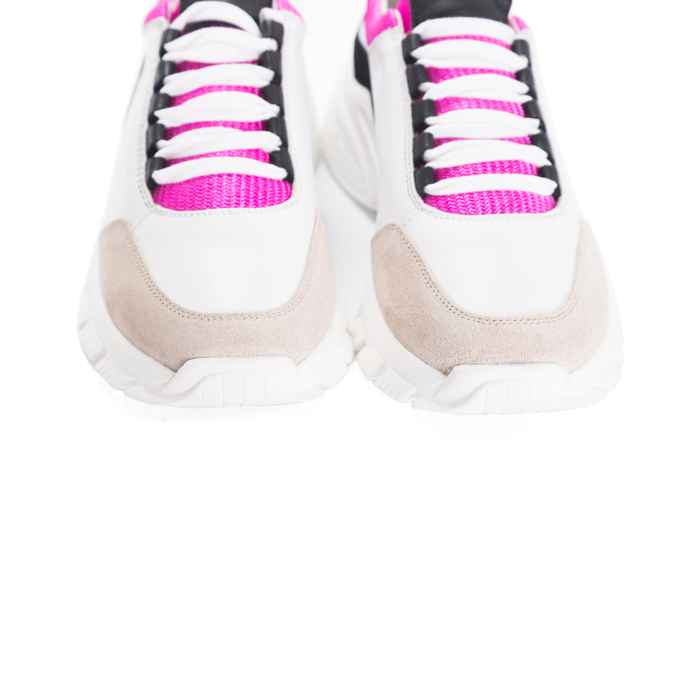 Dafodil Fuschia Multi Sneakers