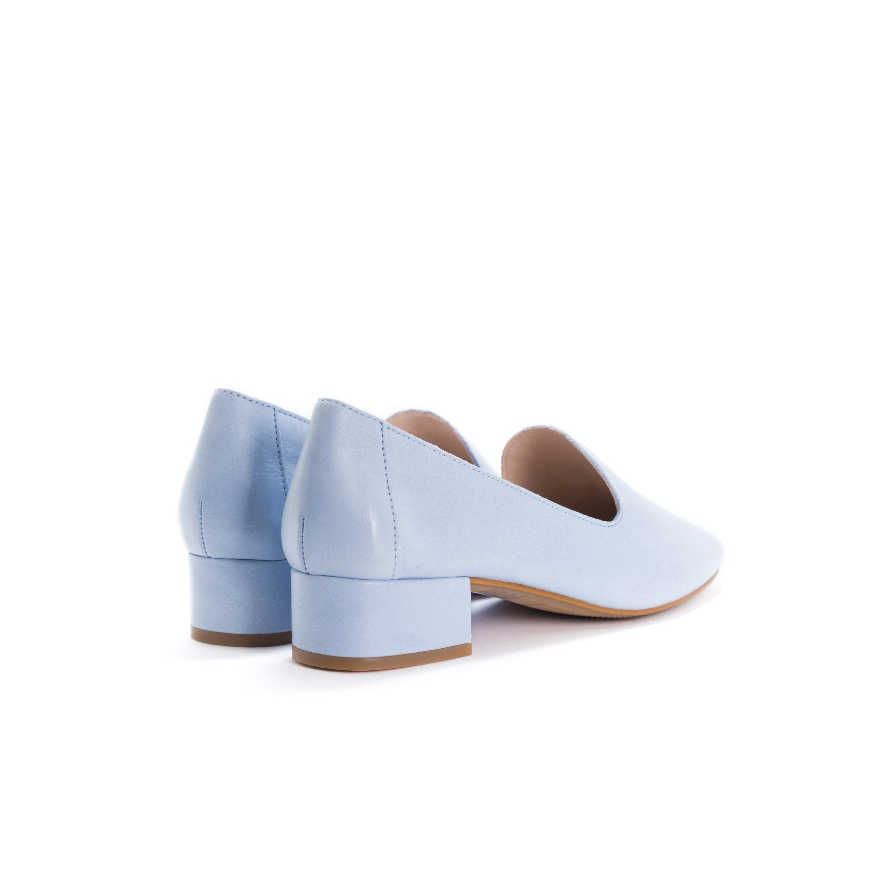 Daria Light Blue Leather