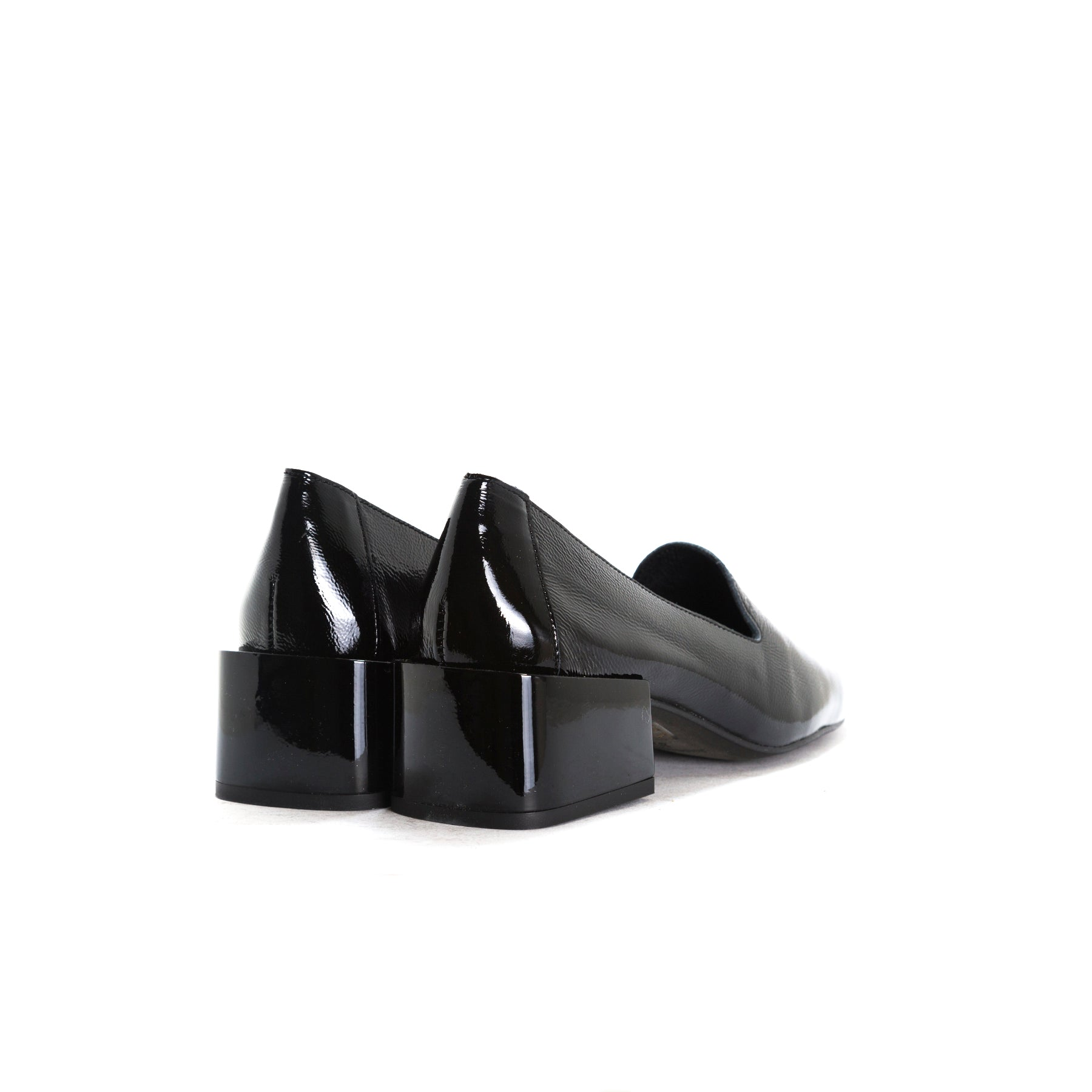 Dawn Black Naplack Shoes