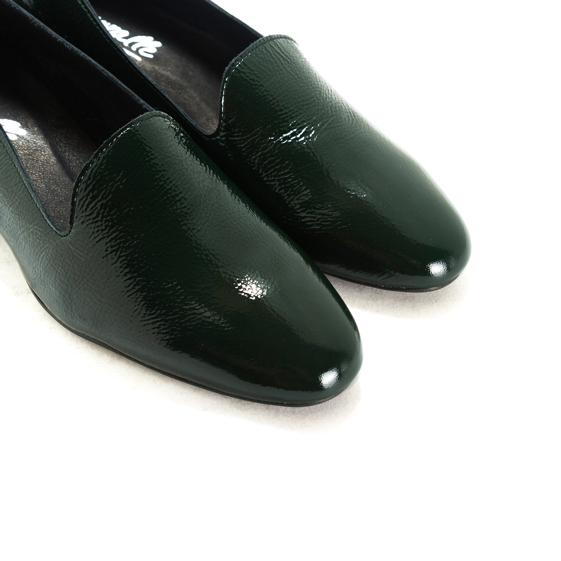 Dawn Green Naplack Shoes