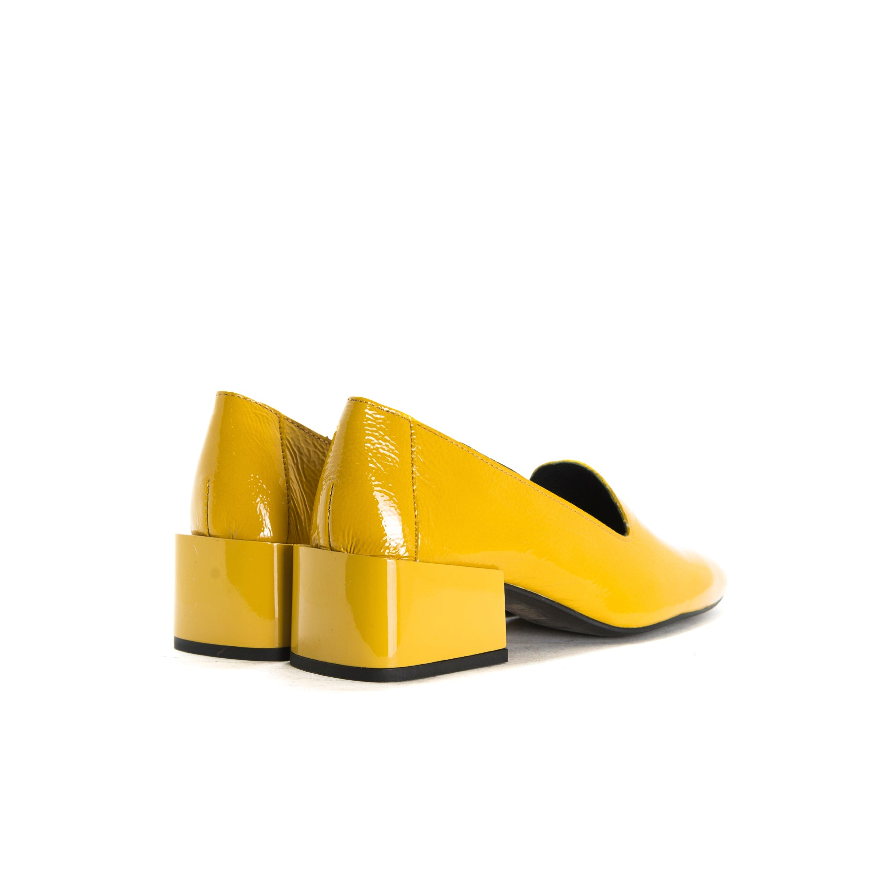 Dawn Mustard Naplack Shoes