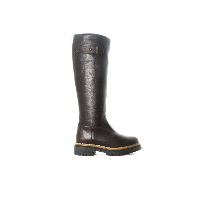 Drenko Brown Leather Boots
