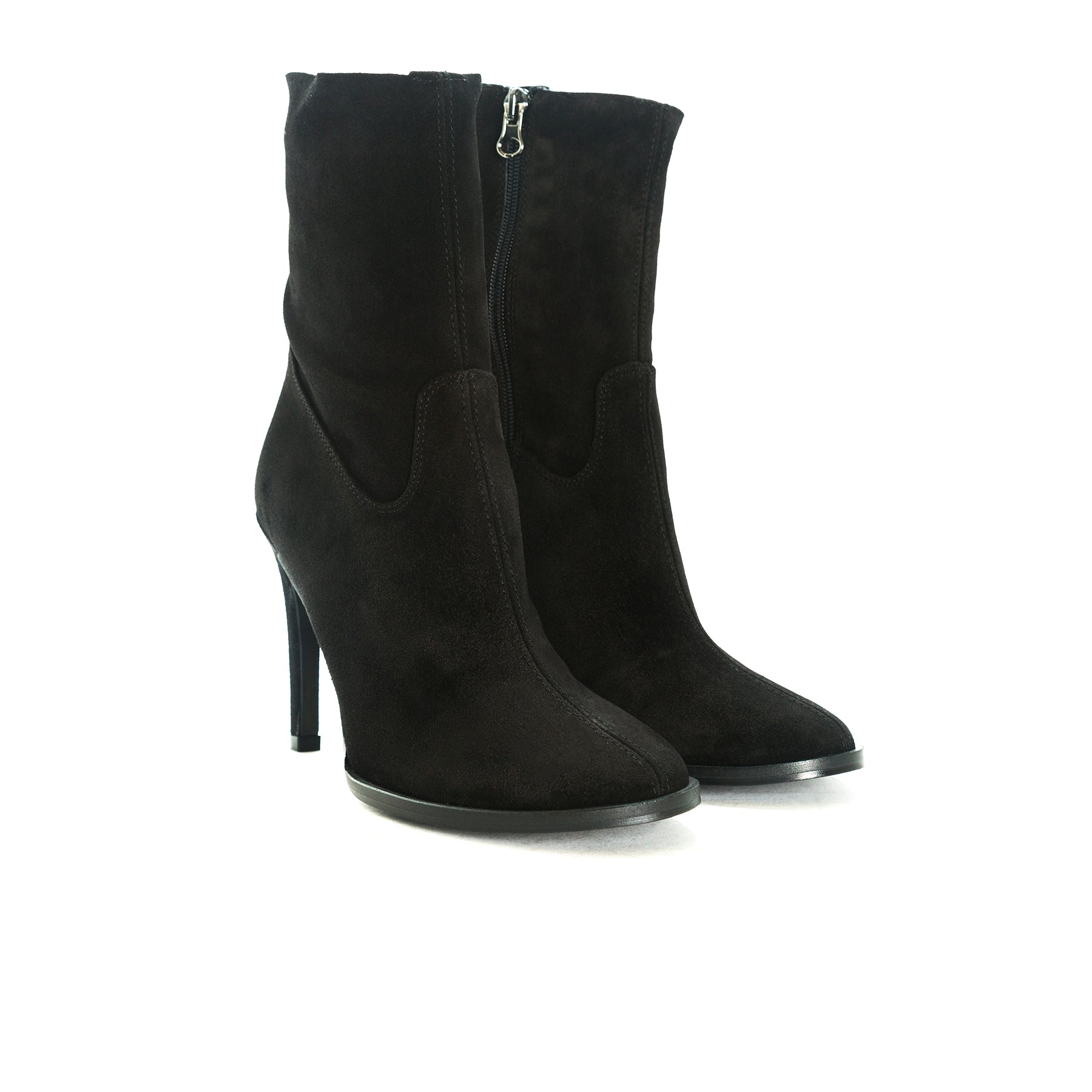Dutchess Black Suede