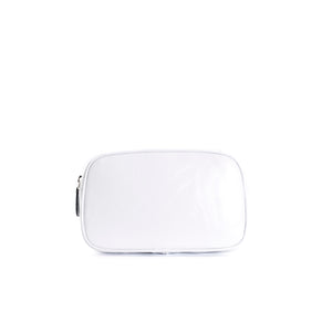 Load image into Gallery viewer, Eda White Leather Belt Bag