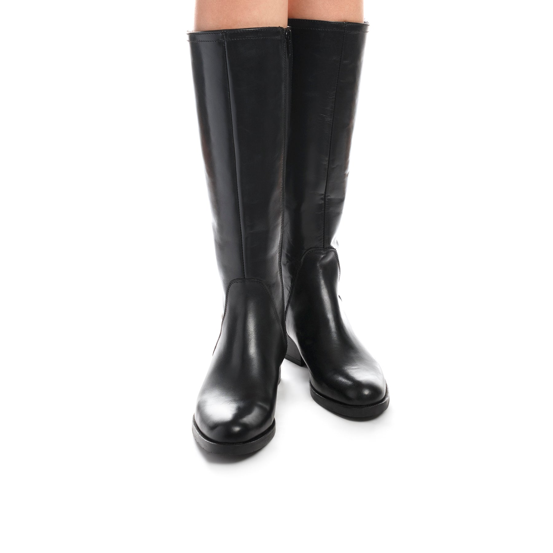 Equestria Black Leather Boots