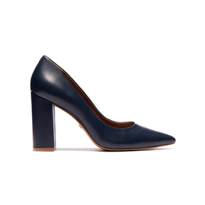 Load image into Gallery viewer, Ciara Navy Leather