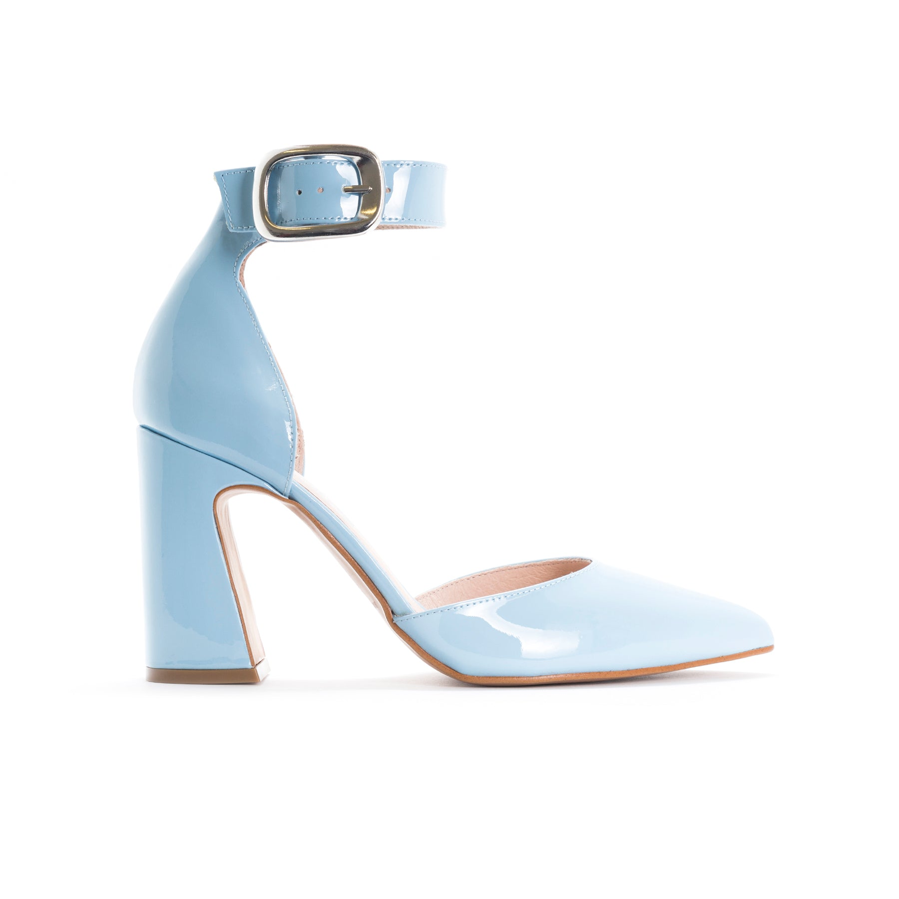 Felicia Light Blue Patent