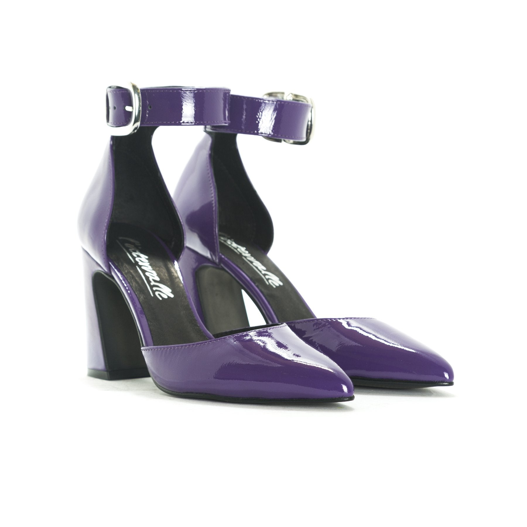 Felicia Purple Patent