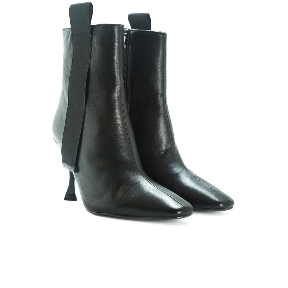 Fontenelle Black Leather Boots