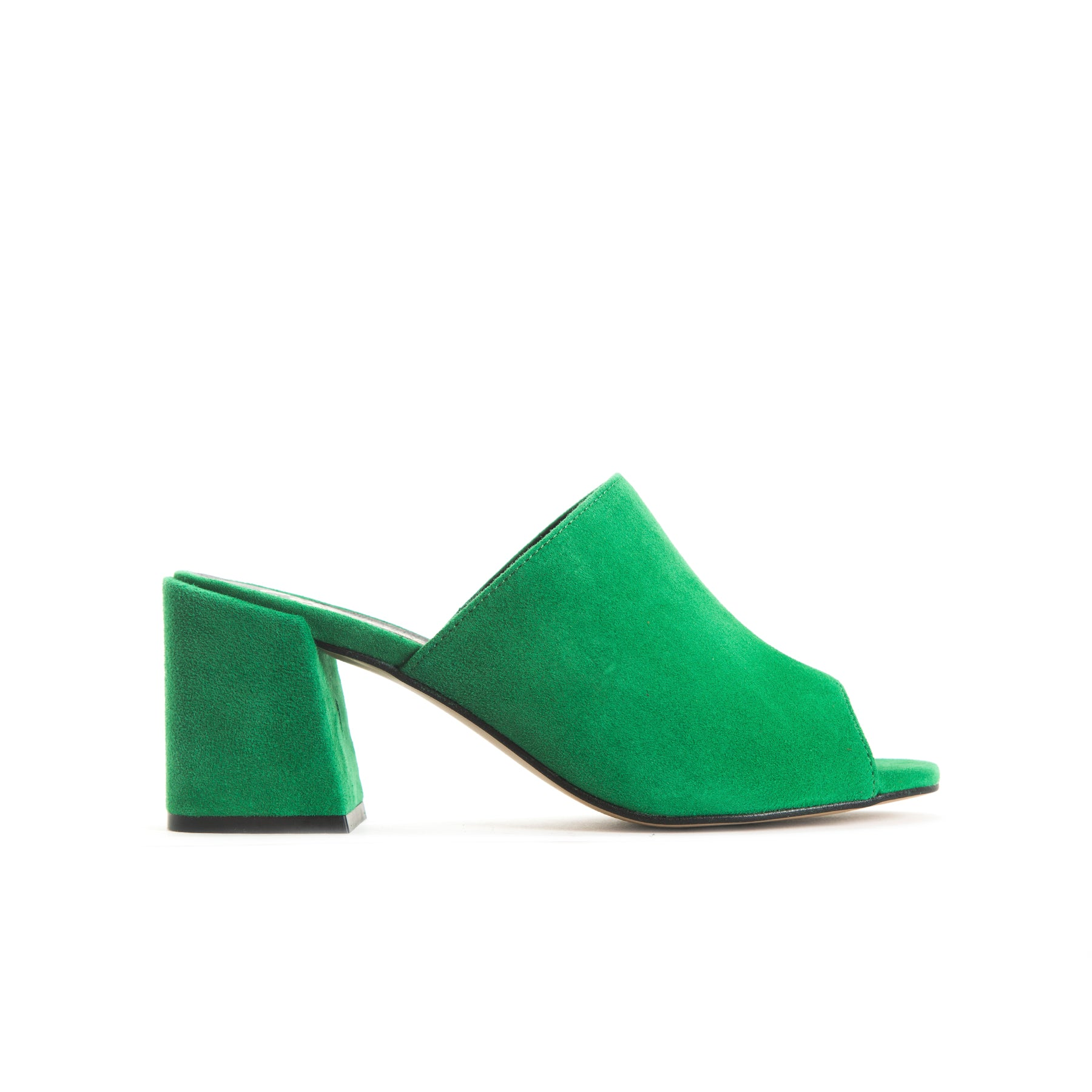 Fortuna Green Suede