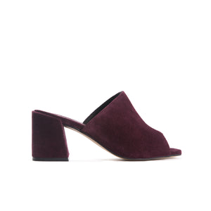 Fortuna Burgundy Suede