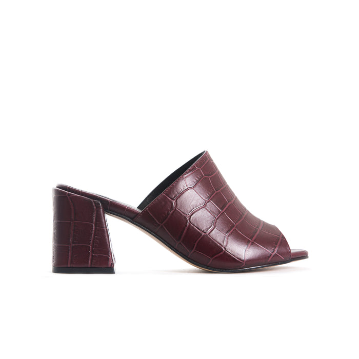 Fortuna Burgundy Croco