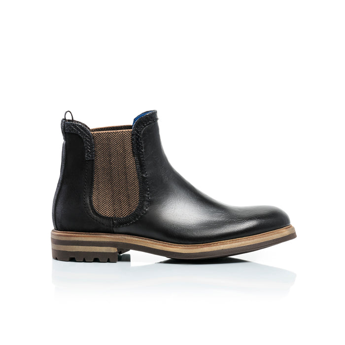 George Black Leather Boots