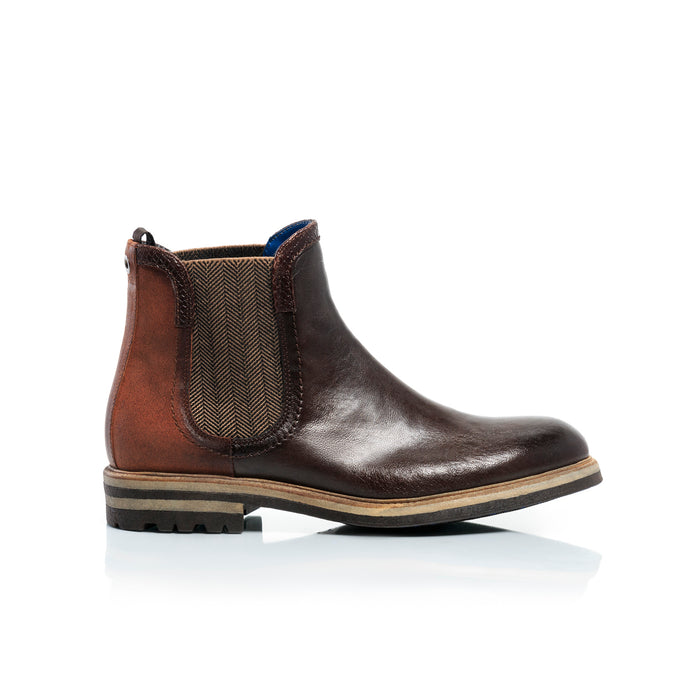 George Brown Leather Boots