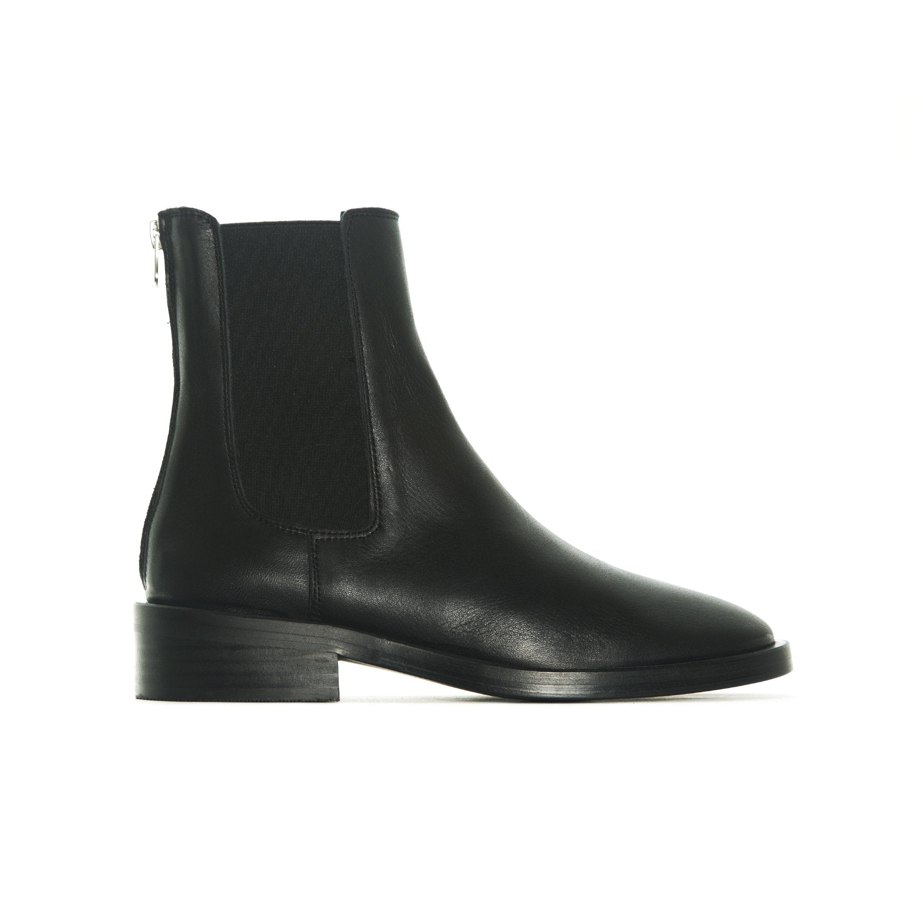 Halifax Black Leather Boots