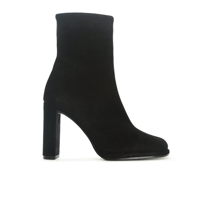 Hamton Black Suede Booties