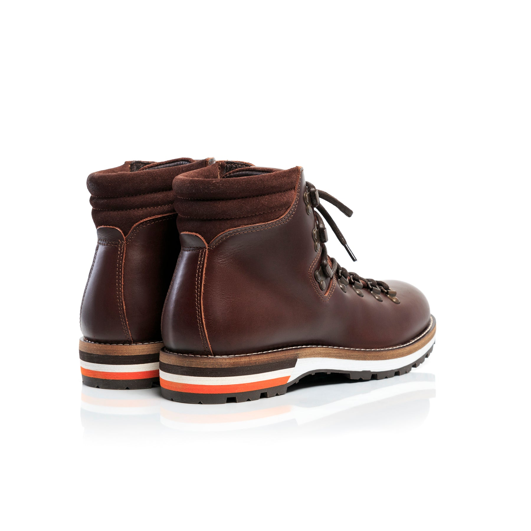 Hiker Brown Leather Boots