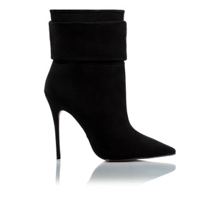 Load image into Gallery viewer, Iggy Black Nubuck Ankle-Boots