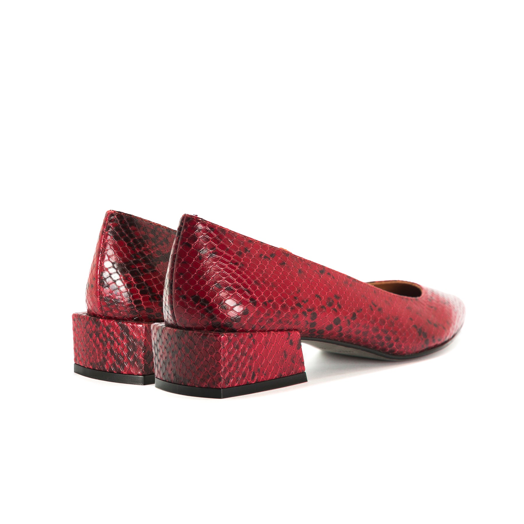 Ingrid Bordo Snake Shoes
