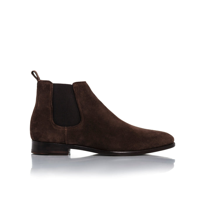 James Brown Suede Boots