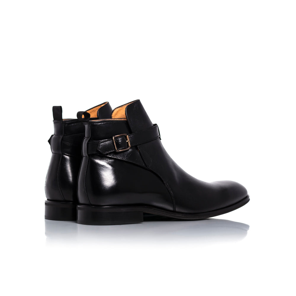 Jim Black Leather Boots